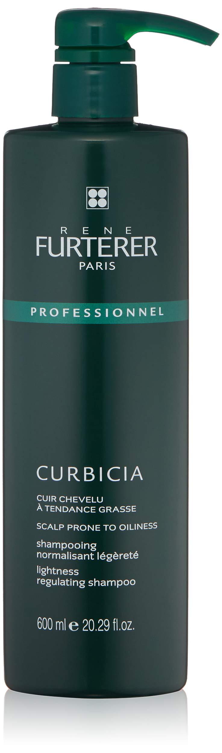 Rene Furterer CURBICIA Normalizing Lightness Shampoo, Oily-Prone  Scalp, Sebum Control, Pump, 20.2 oz. by Rene Furterer