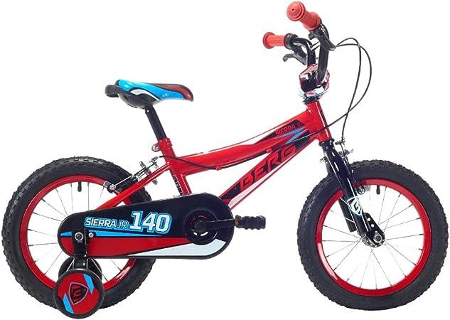 Berg Bicicleta Sierra Jr 140 V1 Rd/BK_Cy Rojo/Negro: Amazon.es: Deportes y aire libre