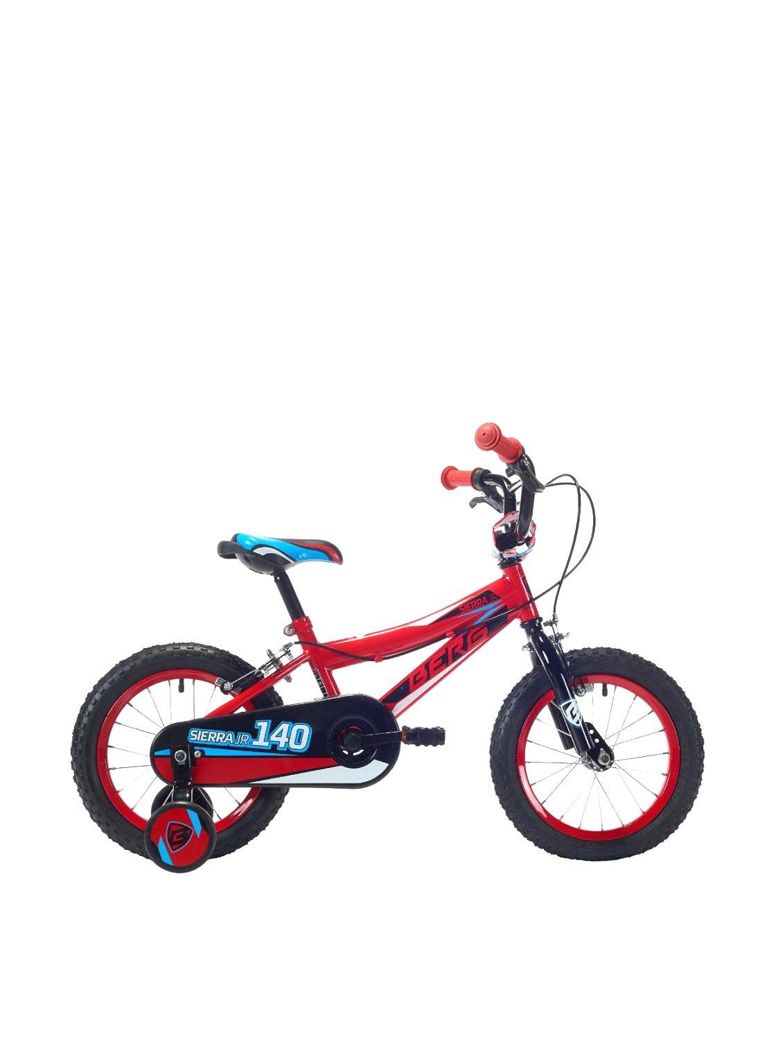 Berg Bicicleta Sierra Jr 140 V1 Rd/BK_Cy Rojo/Negro: Amazon.es ...