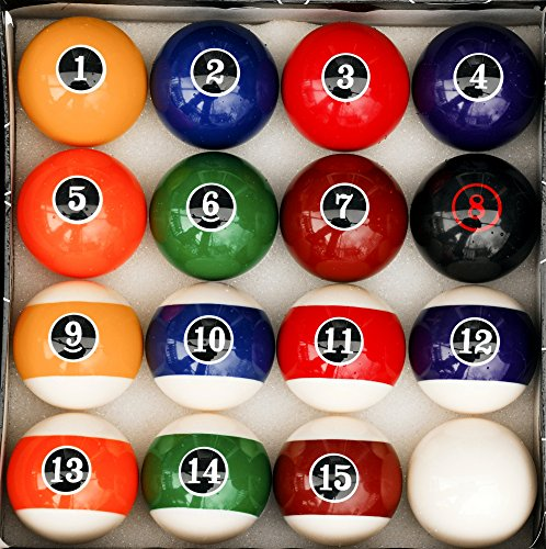 (Modern Style Pool Ball Set - Billiards)