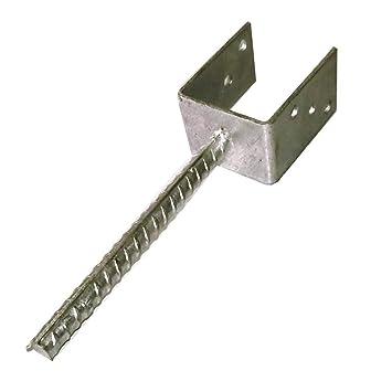 Gut gemocht U-Pfostenträger 101 mm für Pfosten 10x10 cm mit Steindolle DV23