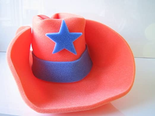 9fceb50ae960b Image Unavailable. Image not available for. Color  OvedcRay Jumbo Foam  Cowboy Hat 30 Gallon Western ...