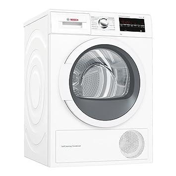 Secadora - Bosch WTG87238EE, Bomba de calor, 8 Kg, A++: Amazon.es ...