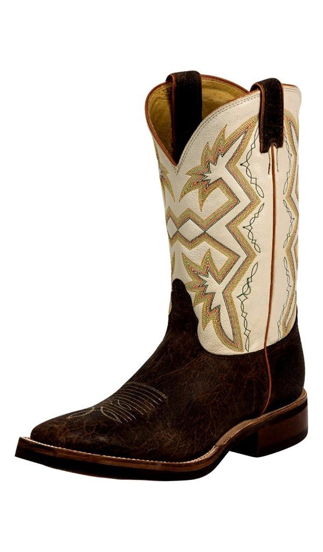 Nocona Men's Bison Print Let's Rodeo Cowboy Boots
