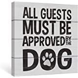 SUMGAR Black and White Wall Art Dorm Bedroom Inspirational Quotes Canvas Paintings Grey Dog Funny Sayings Pictures…