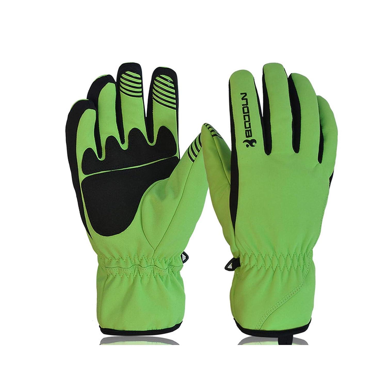 KnSam Outdoor Gloves Gloves for Men Leather Gloves Touch Screen for Men
