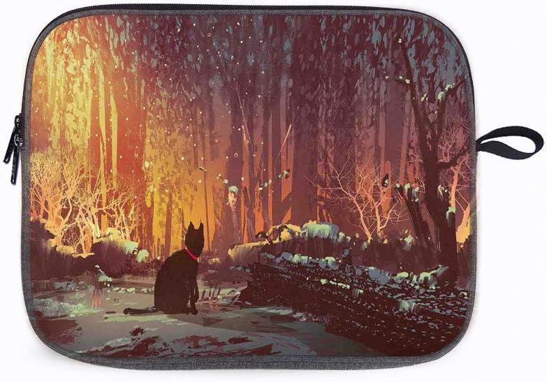 "Fantasy Art Surreal Deep 13"" Laptop Sleeve Bag Compatible with MacBook Pro,MacBook Air,Notebook Comp"
