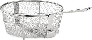All-Clad 59930 Dishwasher Safe Fry Basket / Cookware, 6-Quart, Silver
