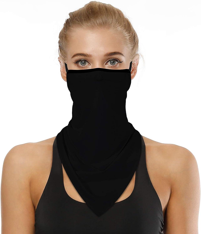 Ear Hangers Face Mask Seamless Bandanas Headband Scarf Neck Gaiter Sun UV Wind Protection Earhook Balaclava