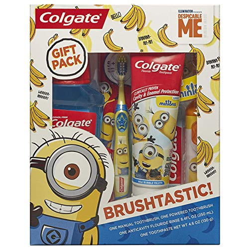 Colgate Toothbrush Toothpaste Mouthwash Minions