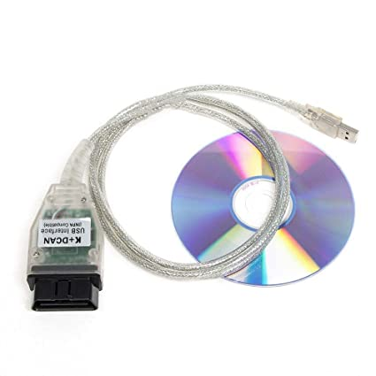 BHY OBD2 EOBD Diagnostic Tool Cable INPA/Ediabas K+CAN K+DCAN USB