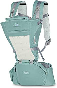 Bethbear 4-in-1 Convertible Baby Carrier with Hip Seat