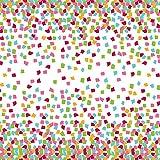 The Gift Wrap Company 135-9293 Printed Gift Tissue, Colorful Confetti, Multicolor
