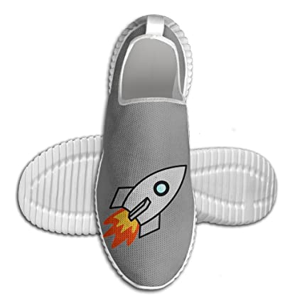 bf8c438f0d0d2 Amazon.com: Rocket Ship Space Lightweight Breathable Casual Sports ...