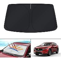 KUST Sunshade for Mazda CX-5 SUV 2020 Windshield Sun Shade Custom Fit for CX-5 SUV 2017 2018 2019 2021 Blocks UV Rays…