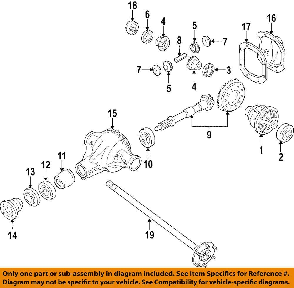 Nissan Seal-oilrear A Replacement Parts Drive Axle pubfactor.ma