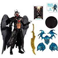 """DC Multiverse Batman Who Laughs with Sky Tyrant Wings 7"""" Action Figure and Build-A Parts for 'The Merciless' Figure"""