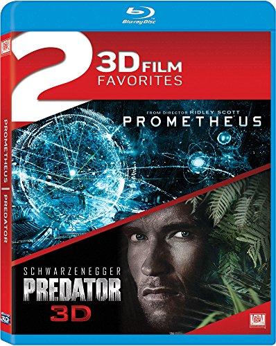 Blu-ray : Prometheus / Predator Double Feature (Widescreen, 3 Dimensional)