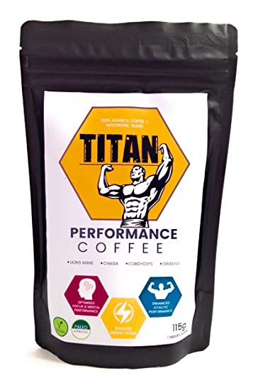 Nootropic Infused Coffee | Mushroom Coffee | Cognitive Enhancers | 30 Servings | Lions Mane | Brain...