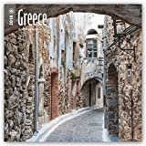 Greece 2018 12 x 12 Inch Monthly Square Wall Calendar, Scenic Travel Europe Greece (Multilingual Edition)