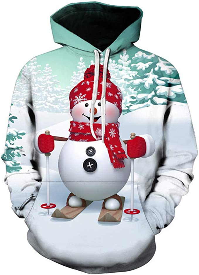 Cool Hoodies,Loves Autumn Winter Christmas Printing Hoodies Sweatshirt,Hoodies for Boys