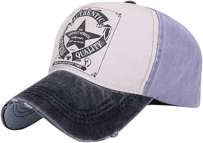 Gorras de Béisbol hip-hop Caps con Cinco Estrellas e Inglés ...