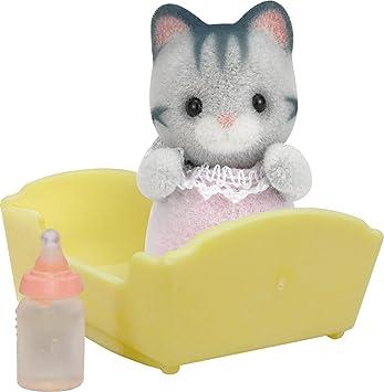 Sylvanian Families 3552 - Figura de gato cachorro con accesorios: Amazon.es: Juguetes y juegos