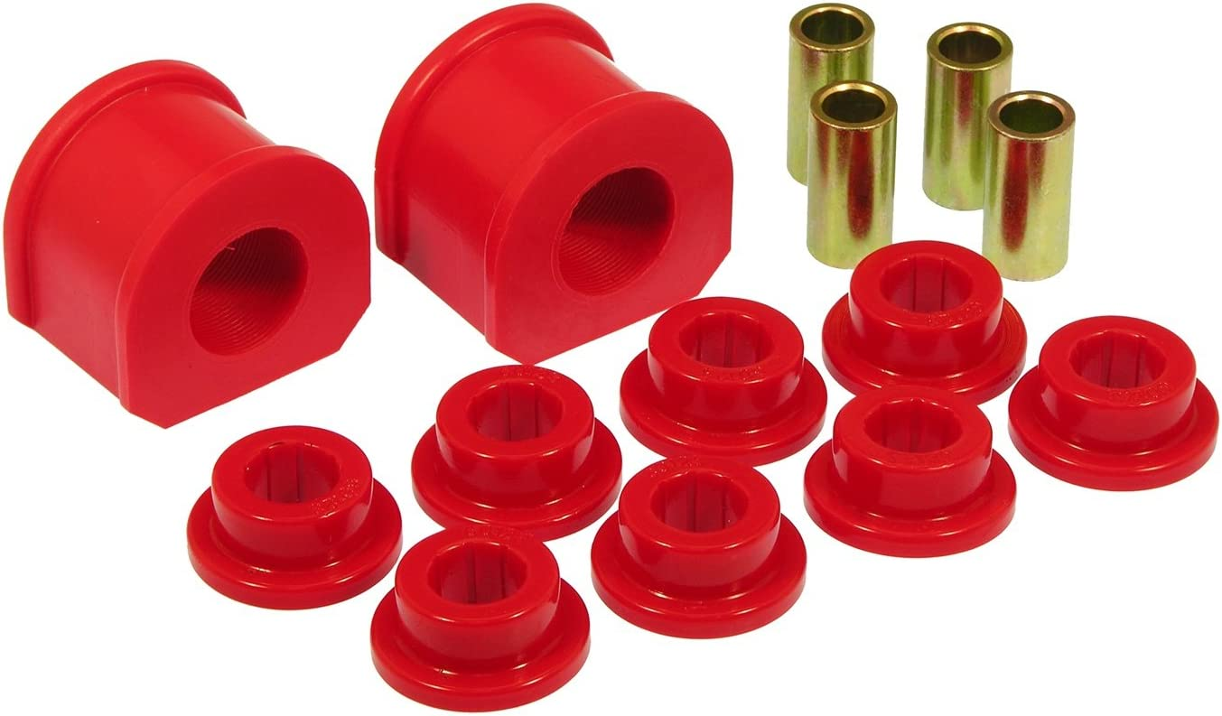 Prothane 6-1118 Red 1-1//8 Sway Bar Bushing Kit