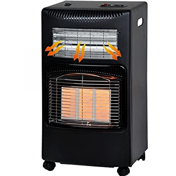 TrAdE shop Traesio Estufa Gas GLP 4200 W catalitica 2 in1 Infrarrojos 3 Elementos cerámica 1500 W: Amazon.es: Hogar
