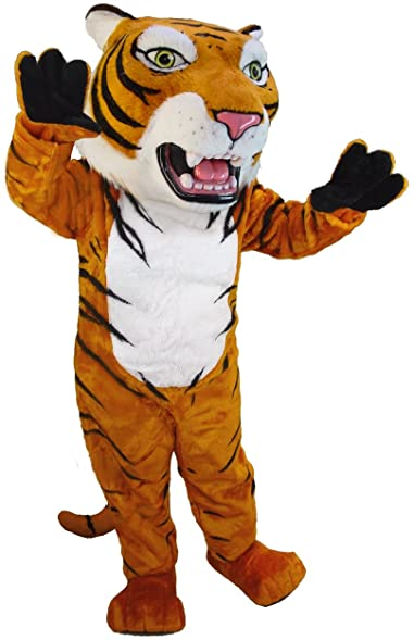 Siberian Tiger Lightweight Mascot Costume  sc 1 st  Amazon.com : siberian tiger costume  - Germanpascual.Com
