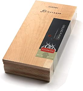 Outset F717 Assorted Wood Grilling Planks, 1 EA, Brown