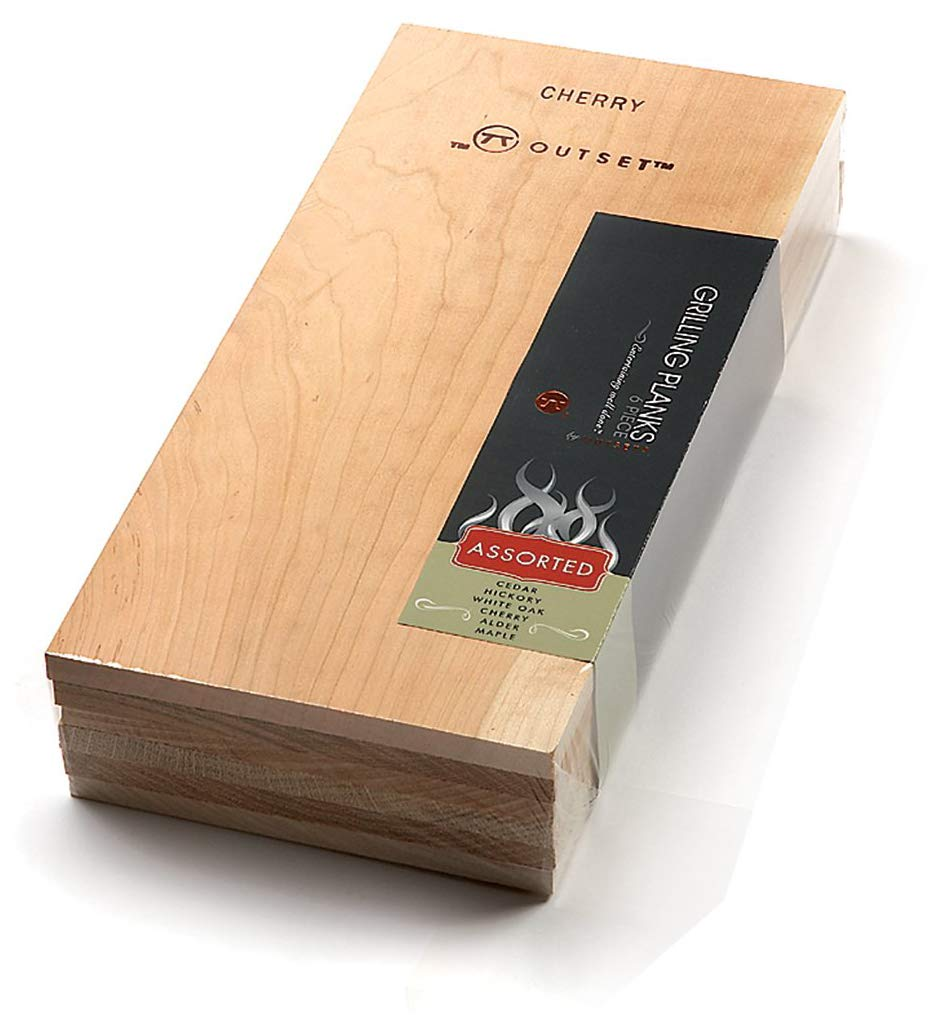 Outset F717 Assorted Wood Grilling Planks, Brown by Outset