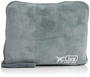 Lug Nap Sac Blanket and Pillow, Fog Grey