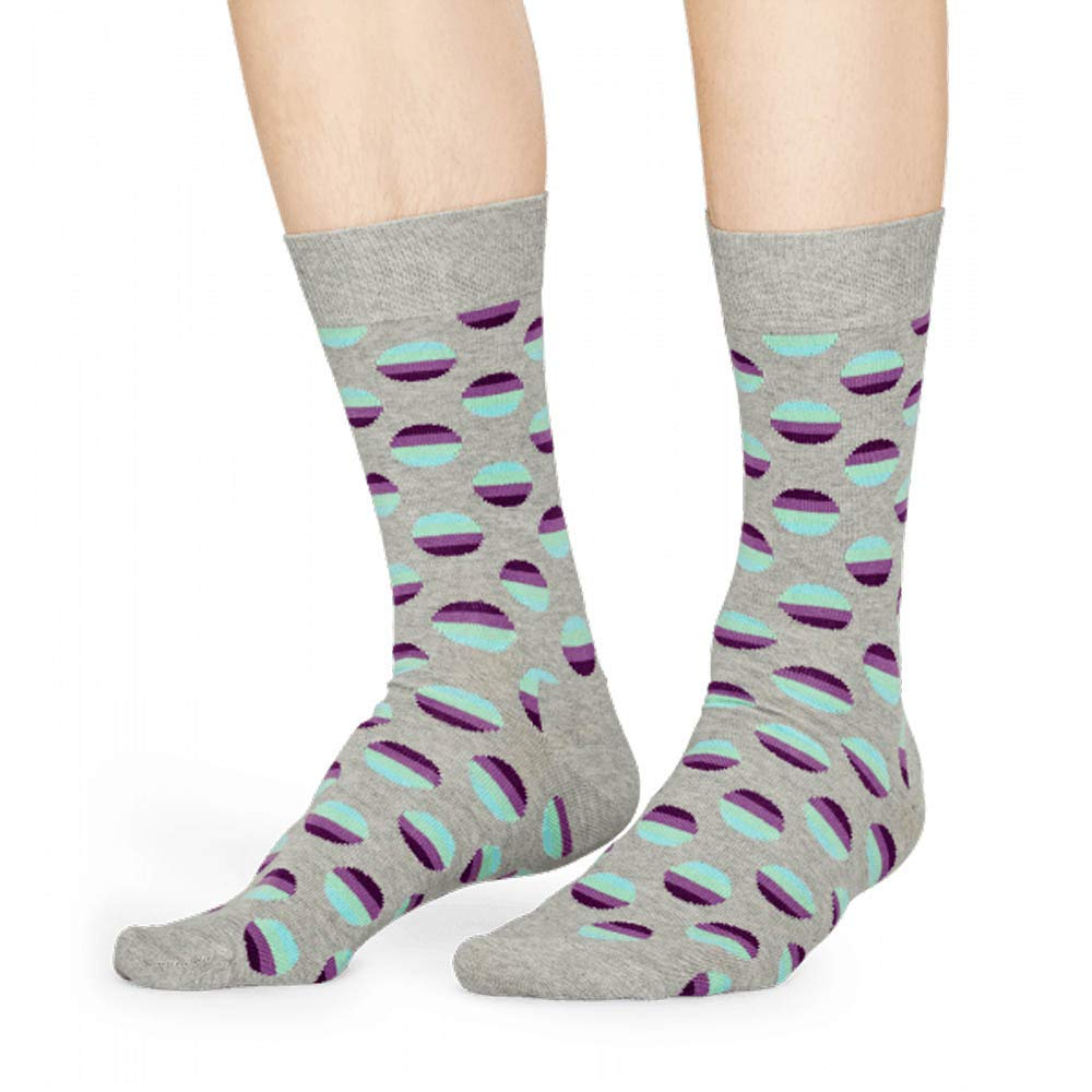 Happy Socks Sunrise Print in Light Grey