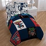 Marvel Comics, Avengers, Spiderman, Captain America, Boys Full Comforter & Sheets (5 Piece Bed In A Bag) + HOMEMADE WAX MELT