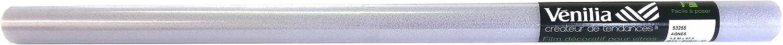 PVC l/ámina de privacidad opaco Venilia est/ática Vitrostaic Karo Helada 1,5 m Grosor 0,2mm 53255 Transparente 67,5 cm x 1,5m