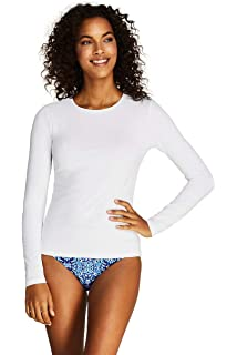 9c249ac10 Lands' End Rash Guard for Women | Long Sleeve Rash Guard Women's Swim Tees