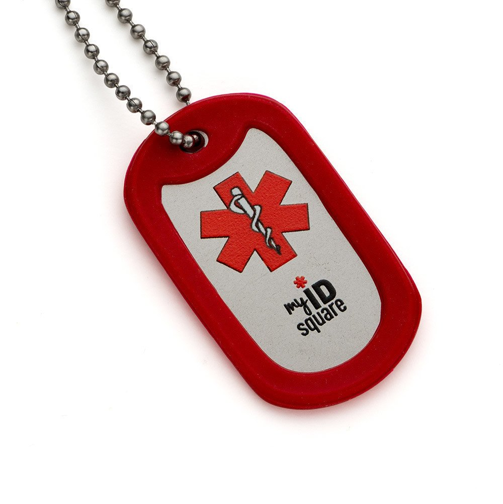 Heart Condition Medical Alert ID Dog Tag