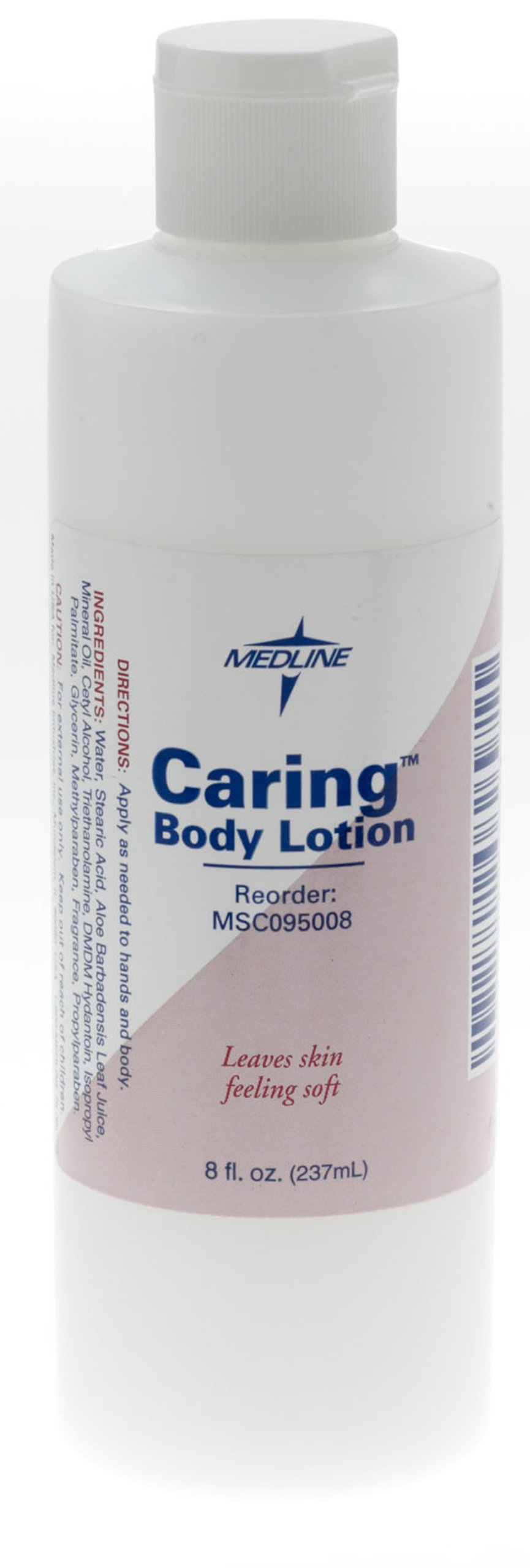 Medline MSC095008 Caring Body Lotion, 8 oz (Pack of 48)