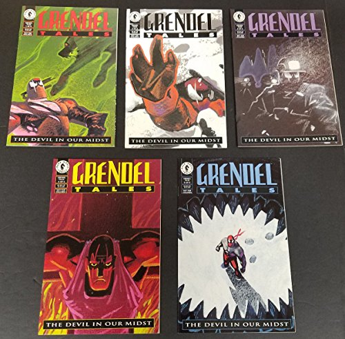 Grendal Tales #1-5 Full Set Complete Run Near Mint Dark Horse Comics 1994 CBX1F
