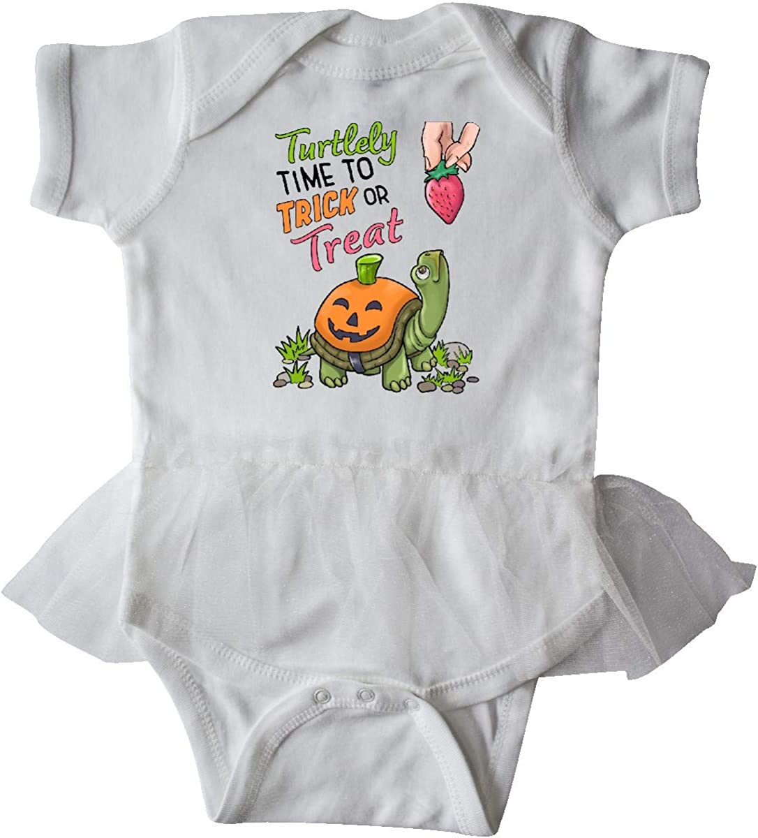 inktastic Turtlely Time to Trick or Treat with Cute Turtle Infant Tutu Bodysuit
