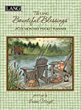 Lang Bountiful Blessings 2016 Monthly Pocket Planner by Susan Winget, January 2016 to January 2017, 4.25 x 6.5 Inches (1003158)