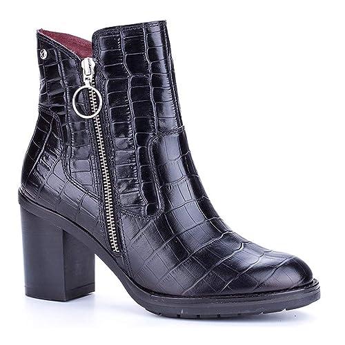 Pompeya Black 36 Pikolinos W9t para i18 EU Botines Amazon es Zapatos Negro Mujer y complementos HA4dx40qw