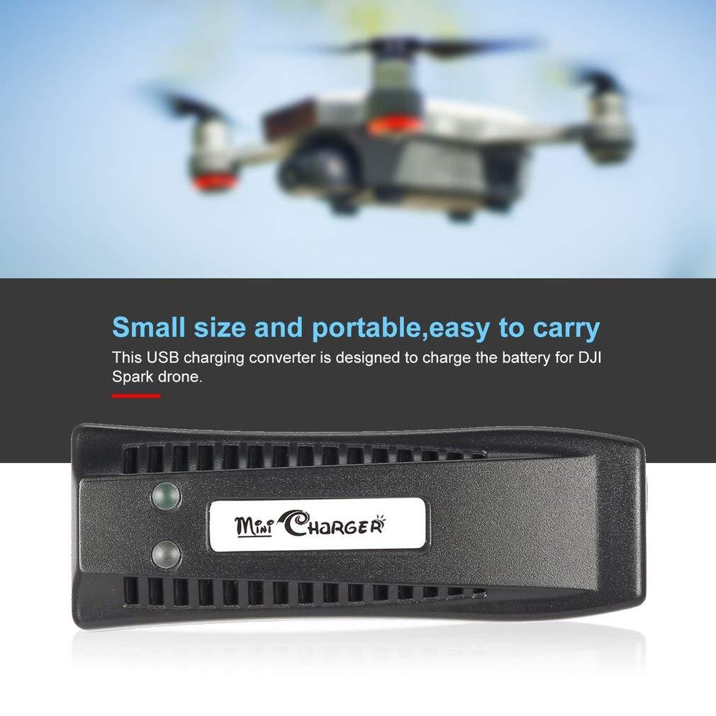 KinshopS - Cargador USB universal para dron DJI Spark (5 V, 3 A ...