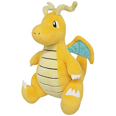 "Sanei Pokemon All Star Collection PP39 Dragonite 8.5"" Stuffed Plush: Toys & Games"