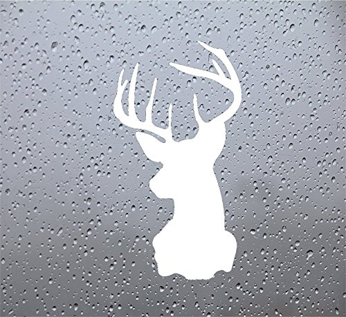 Deer Head DECAL Tumbler WHITE product image
