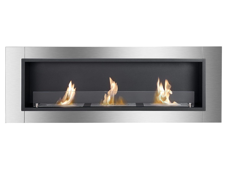 amazon com ignis ventless bio ethanol fireplace ardella with safety rh amazon com ignis eb1200 ethanol fireplace burner insert ignis ethanol fireplace insert
