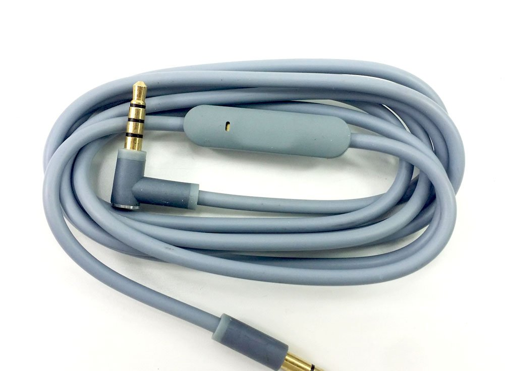 Replacement Audio Cable Cord Wire with In-line Microphone and ...