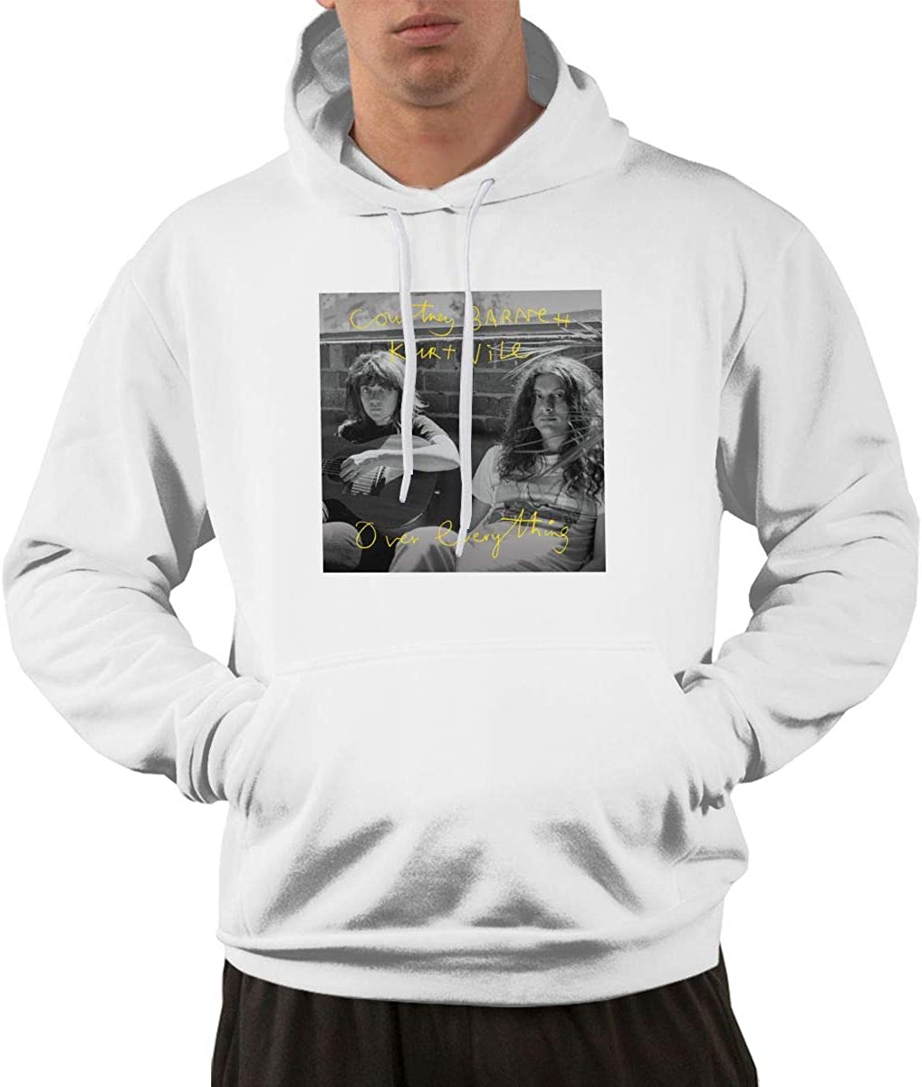 Duan Wuqing Courtney Barnett Over Everything Fashion Mens Hoodie Black