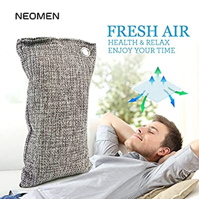 Air Purifying Bag Nano-mineral Crystal. Chemical Free, Odor Eliminator Deodorizer, Air Freshener for Cars, New House, Bathrooms, Pet Areas. Best to Eliminate Odor, Formaldehyde, Benzene, Ammonia.